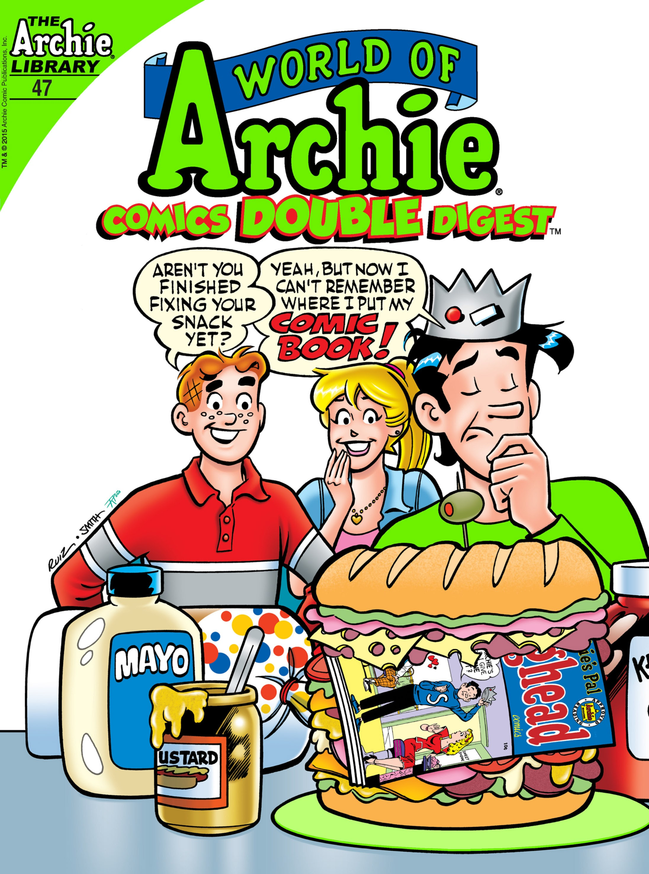 World of Archie Double Digest 47 Page 1