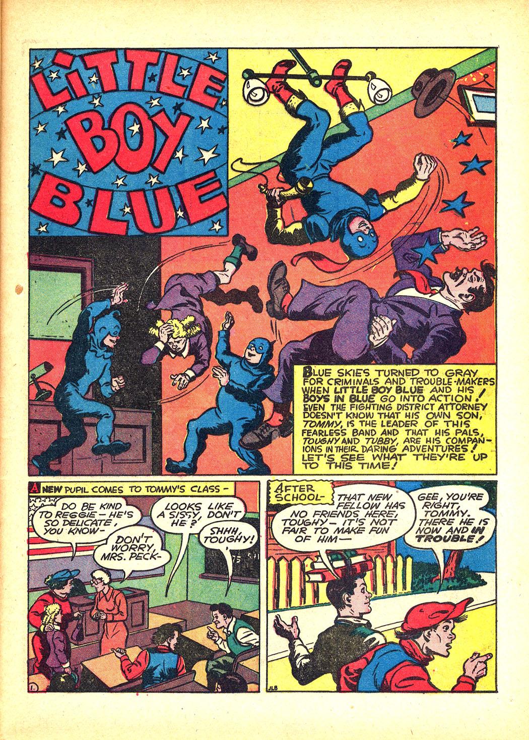 Read online Sensation (Mystery) Comics comic -  Issue #8 - 49