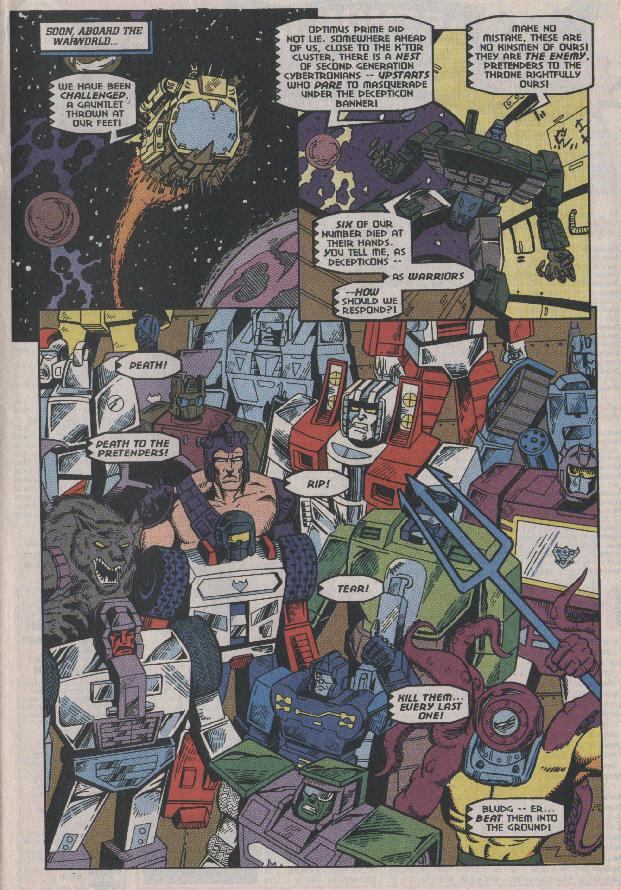Read online Transformers: Generation 2 comic -  Issue #7 - 9