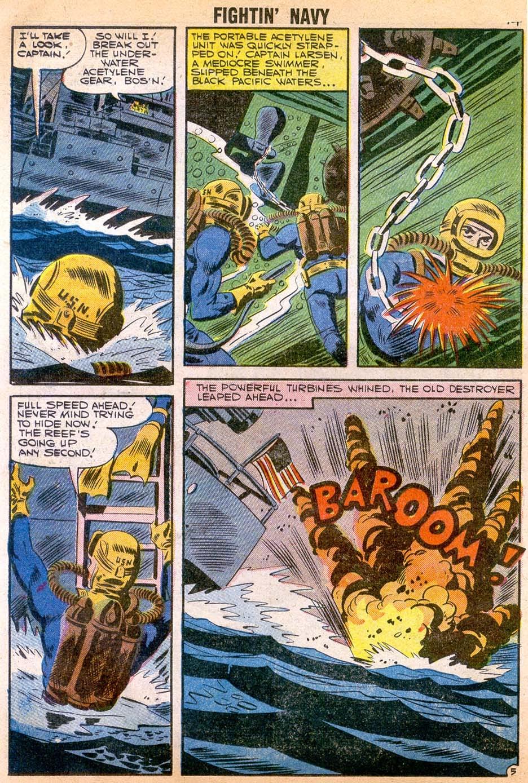 Read online Fightin' Navy comic -  Issue #79 - 16
