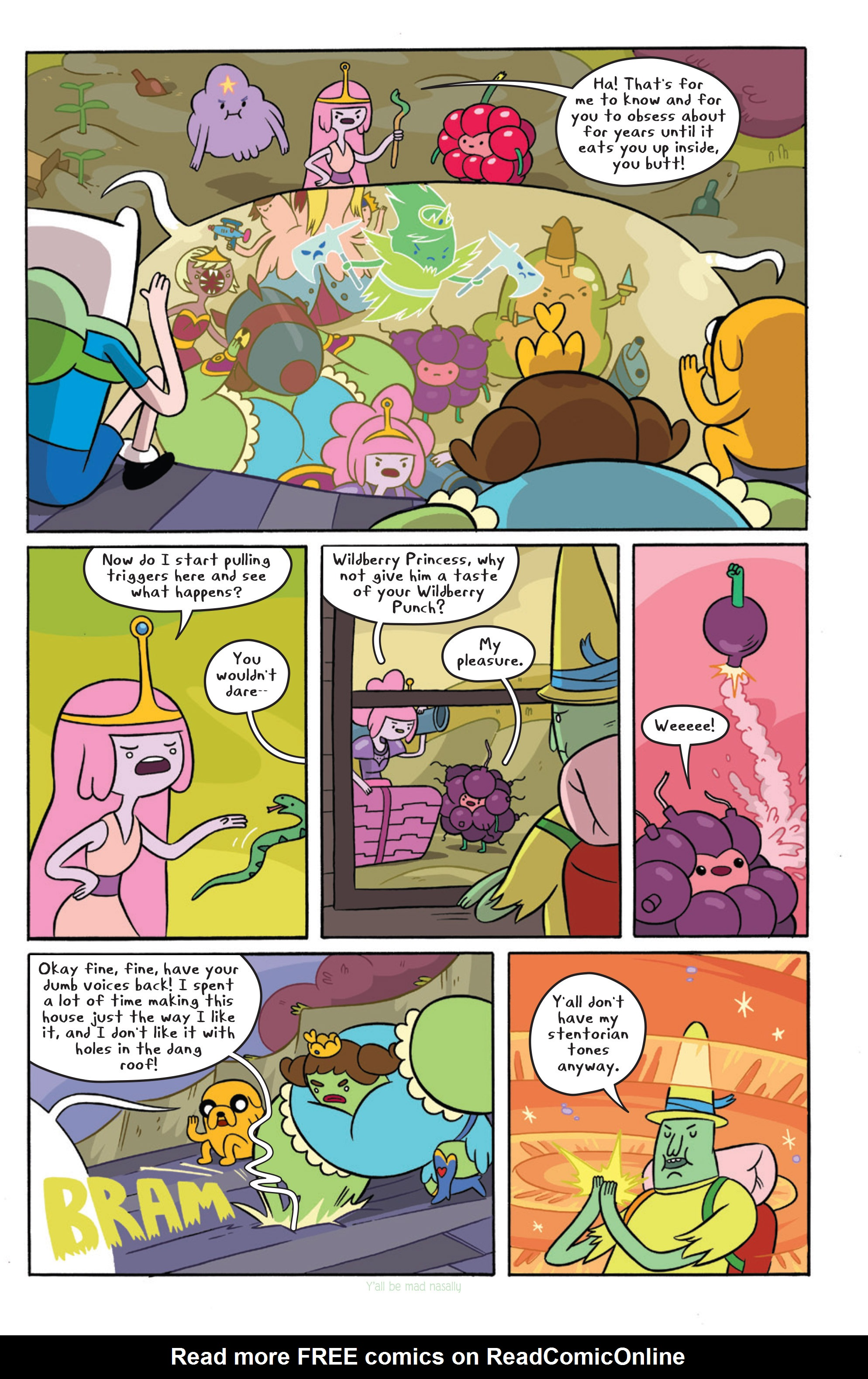 Read online Adventure Time comic -  Issue #15 - 19