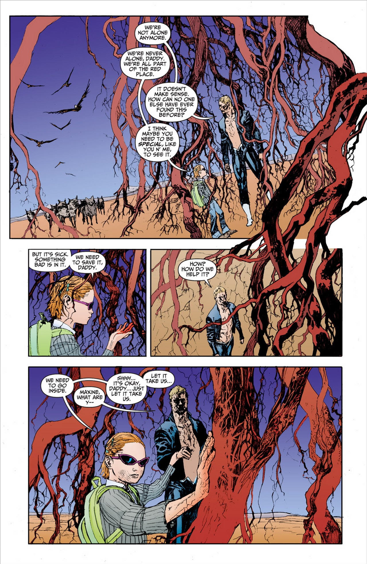 Read online Animal Man (2011) comic -  Issue #2 - 18