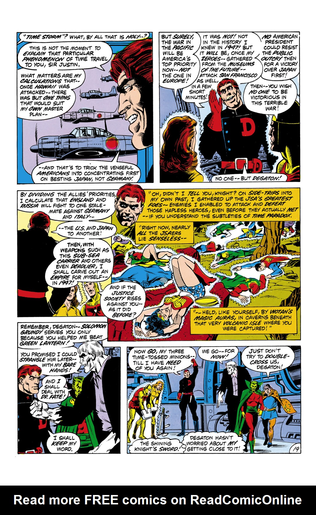 Read online All-Star Squadron comic -  Issue #2 - 20