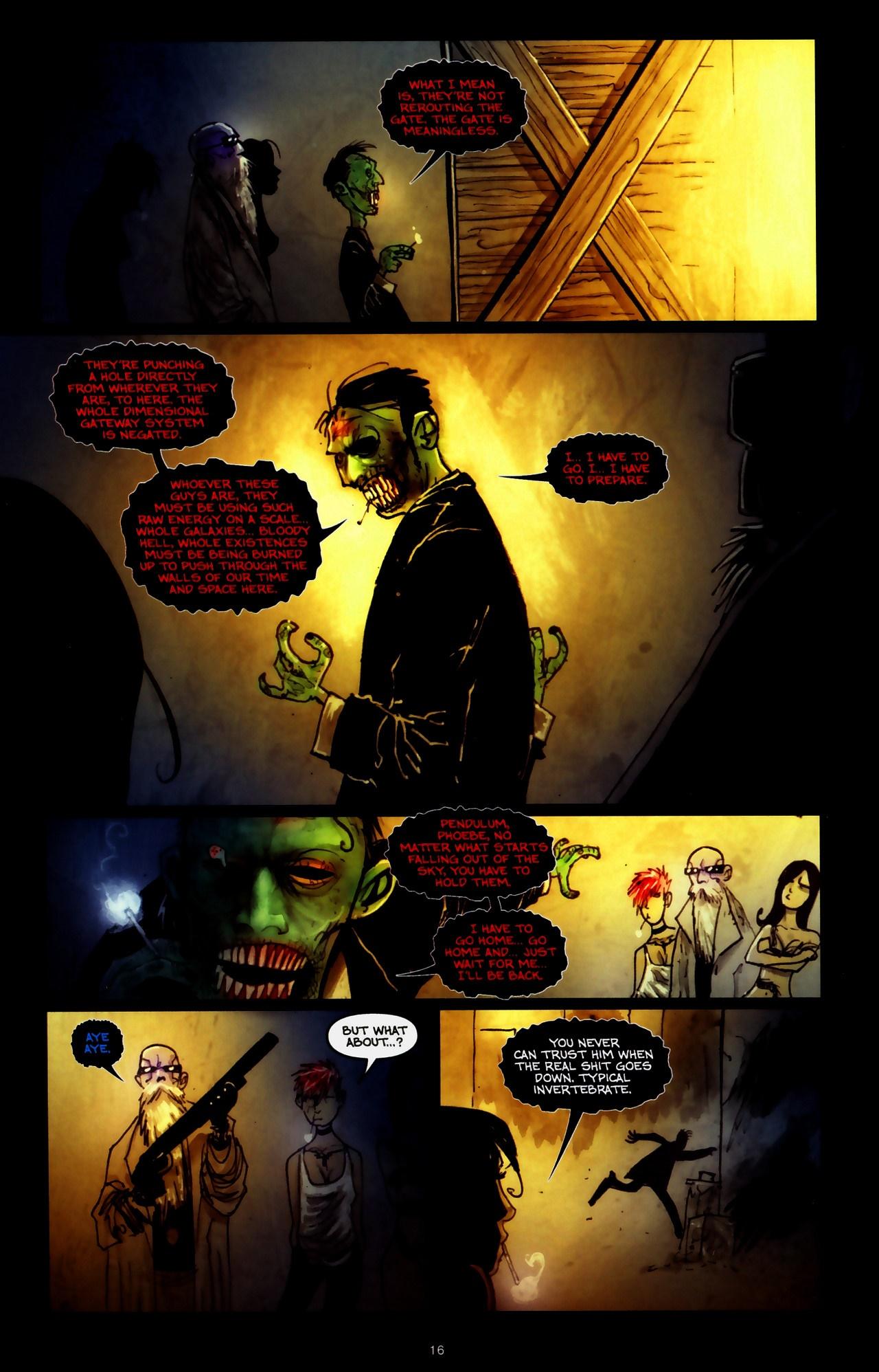 Read online Wormwood: Gentleman Corpse comic -  Issue #9 - 18