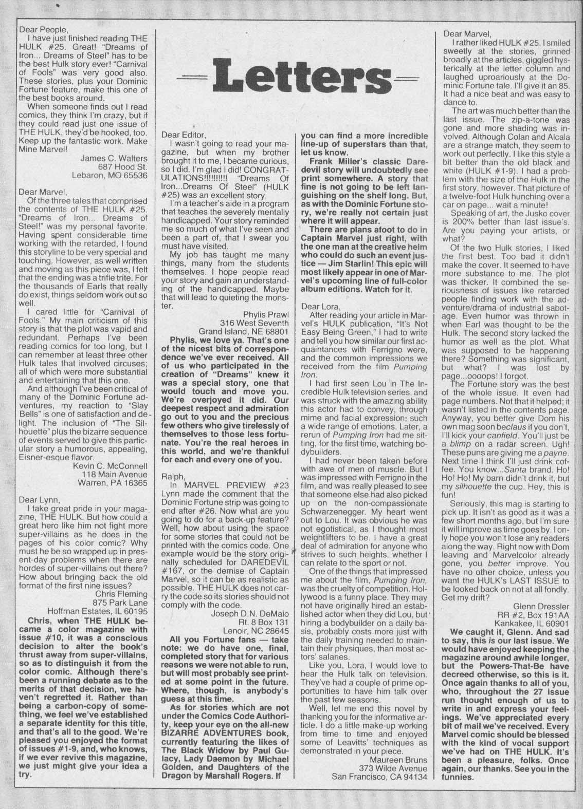 Hulk (1978) issue 27 - Page 60