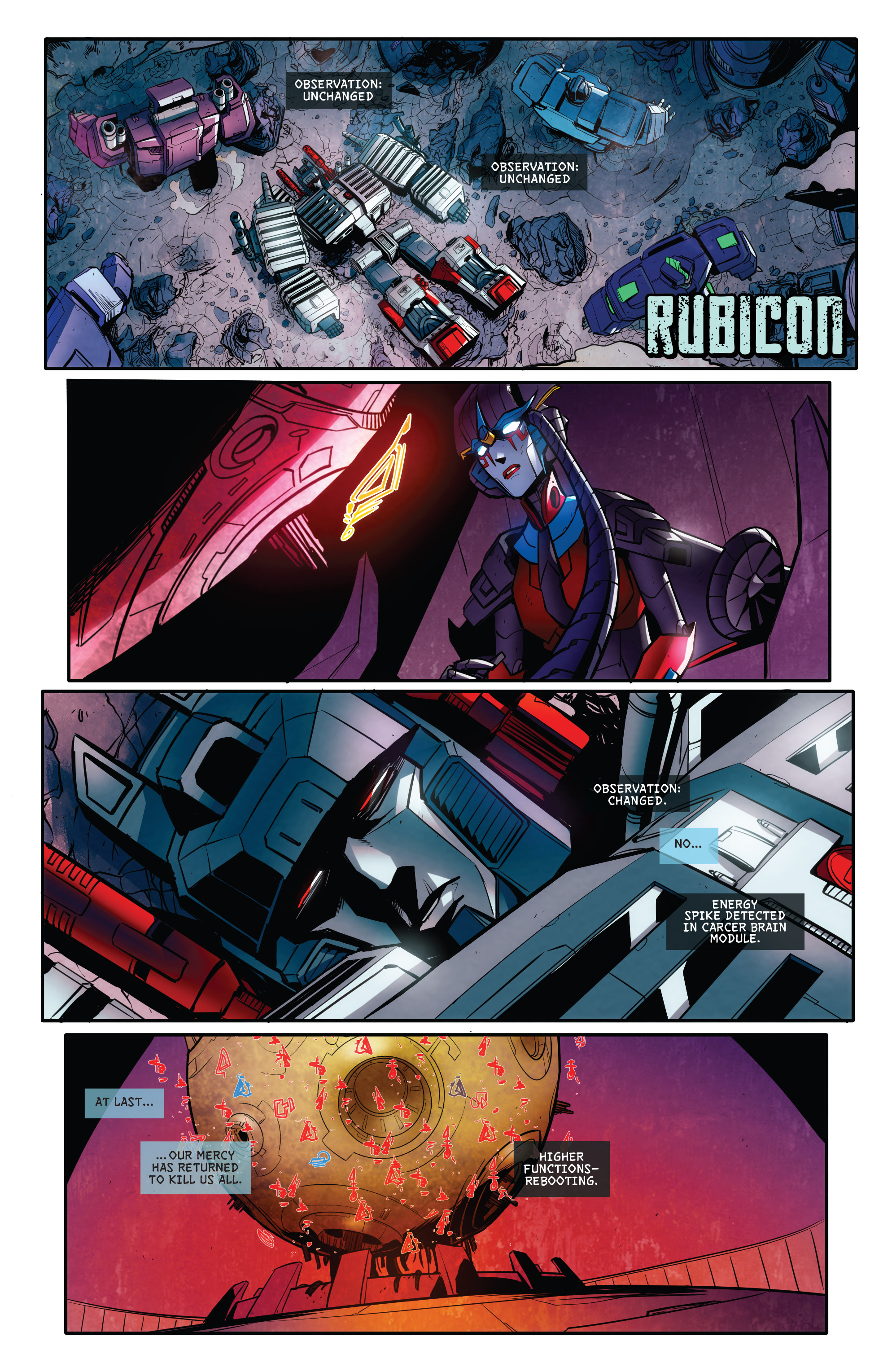 Read online Transformers: Till All Are One comic -  Issue #8 - 3