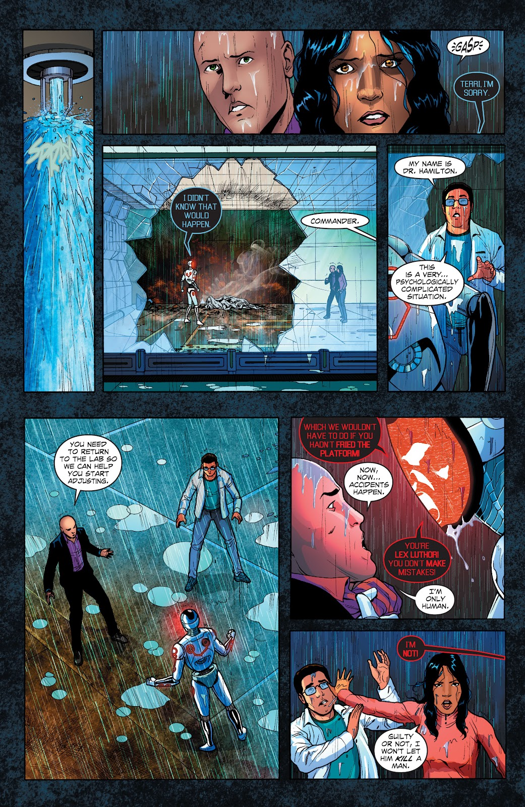 Read online Smallville Season 11 [II] comic -  Issue # TPB 1 - 109