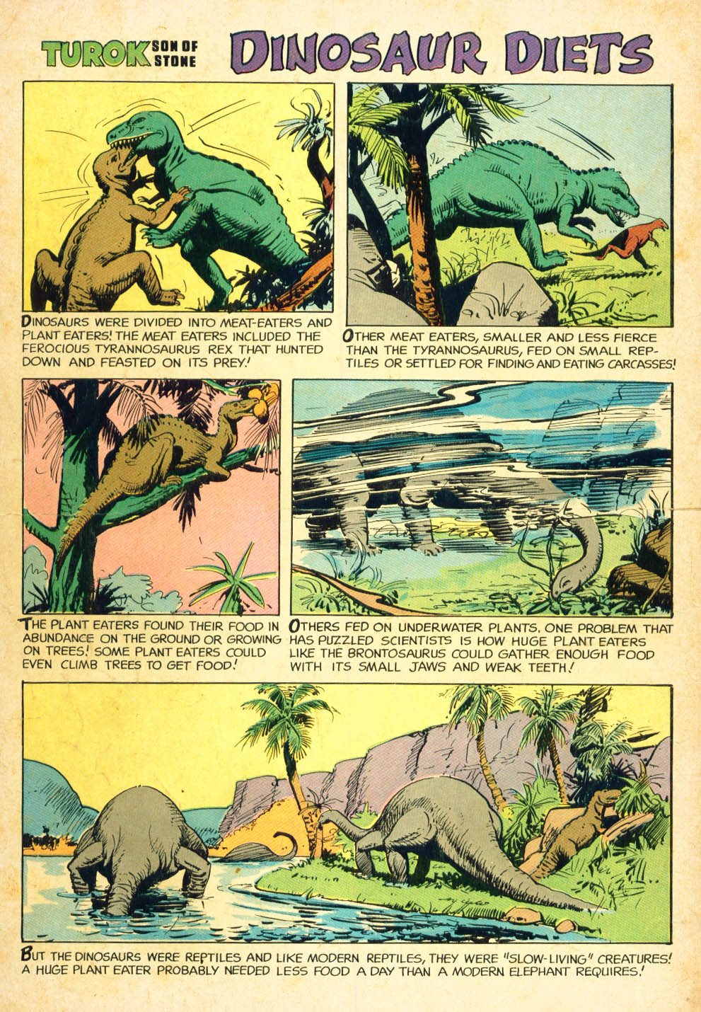 Read online Turok, Son of Stone comic -  Issue #27 - 36