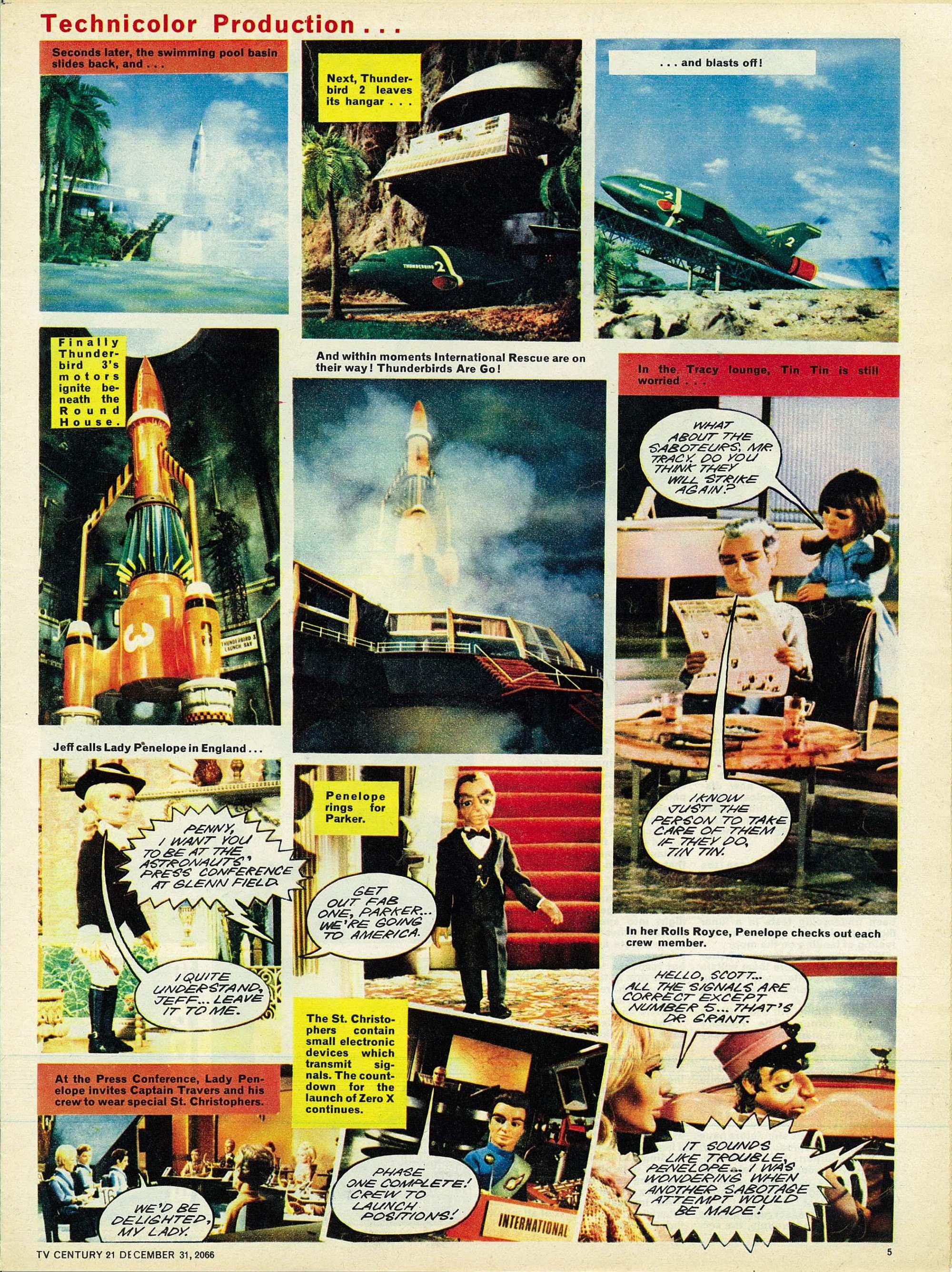 Read online TV Century 21 (TV 21) comic -  Issue #102 - 5