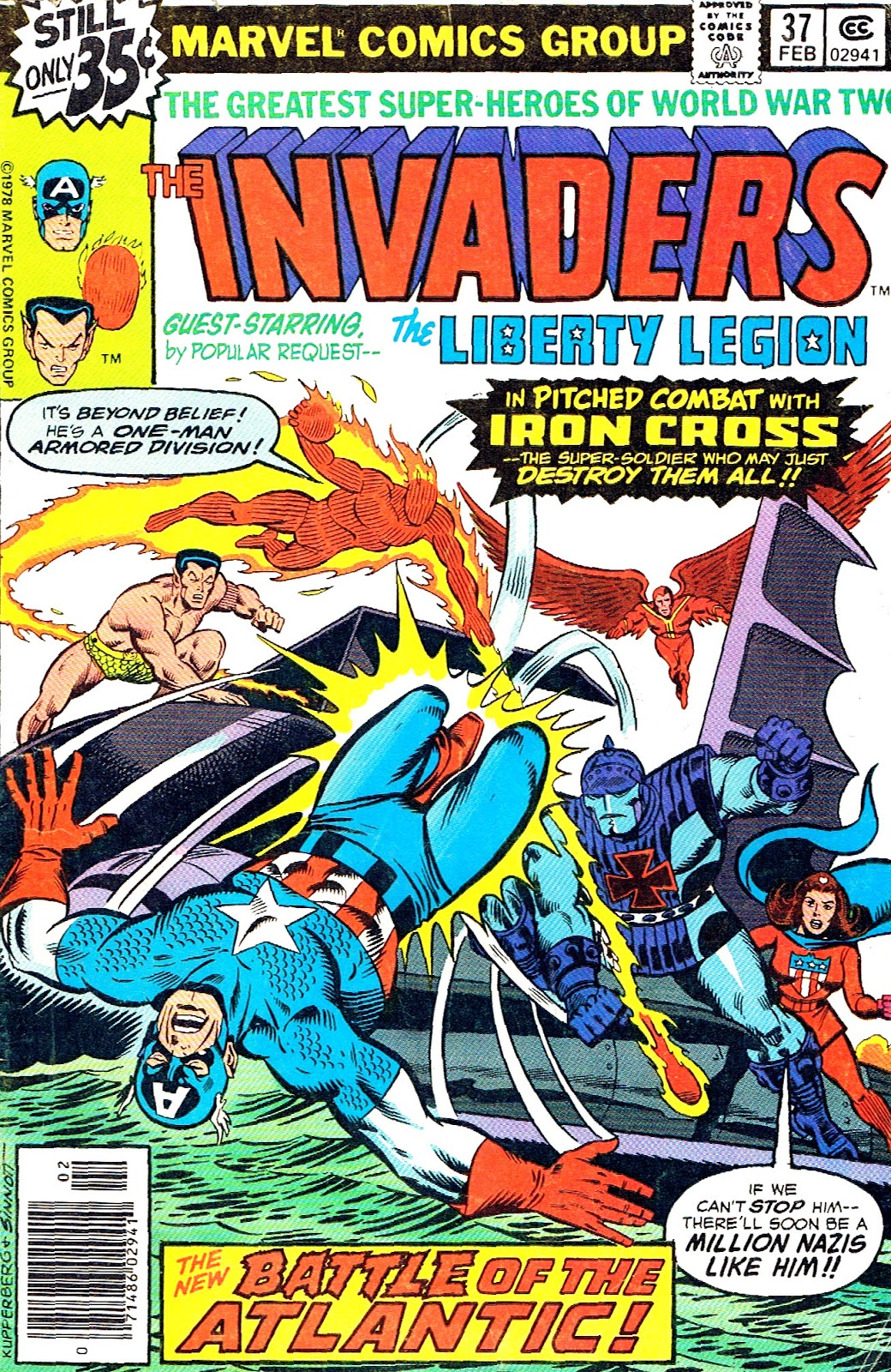The Invaders (1975) issue 37 - Page 1