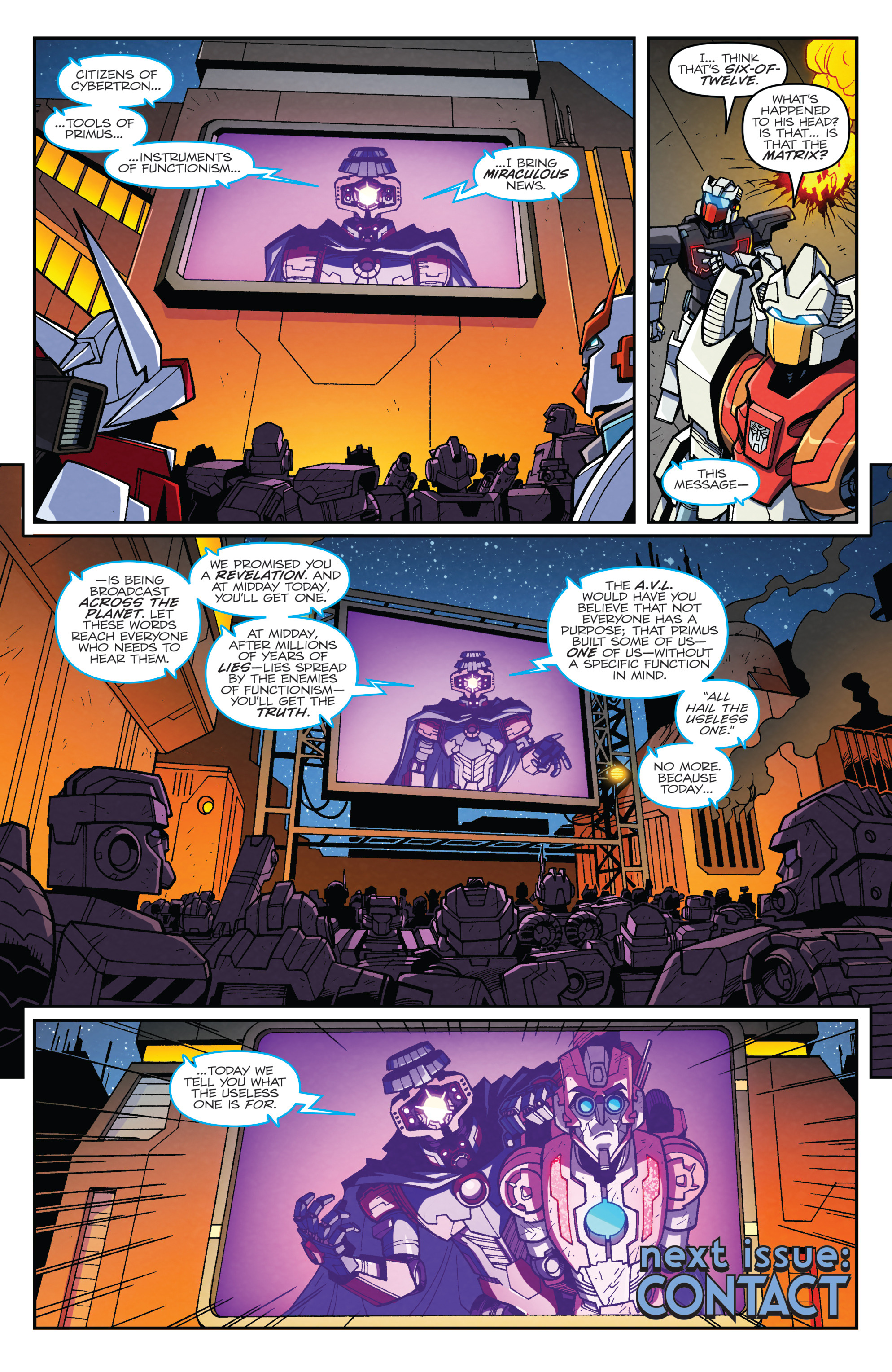 Read online Transformers: Lost Light comic -  Issue #2 - 22