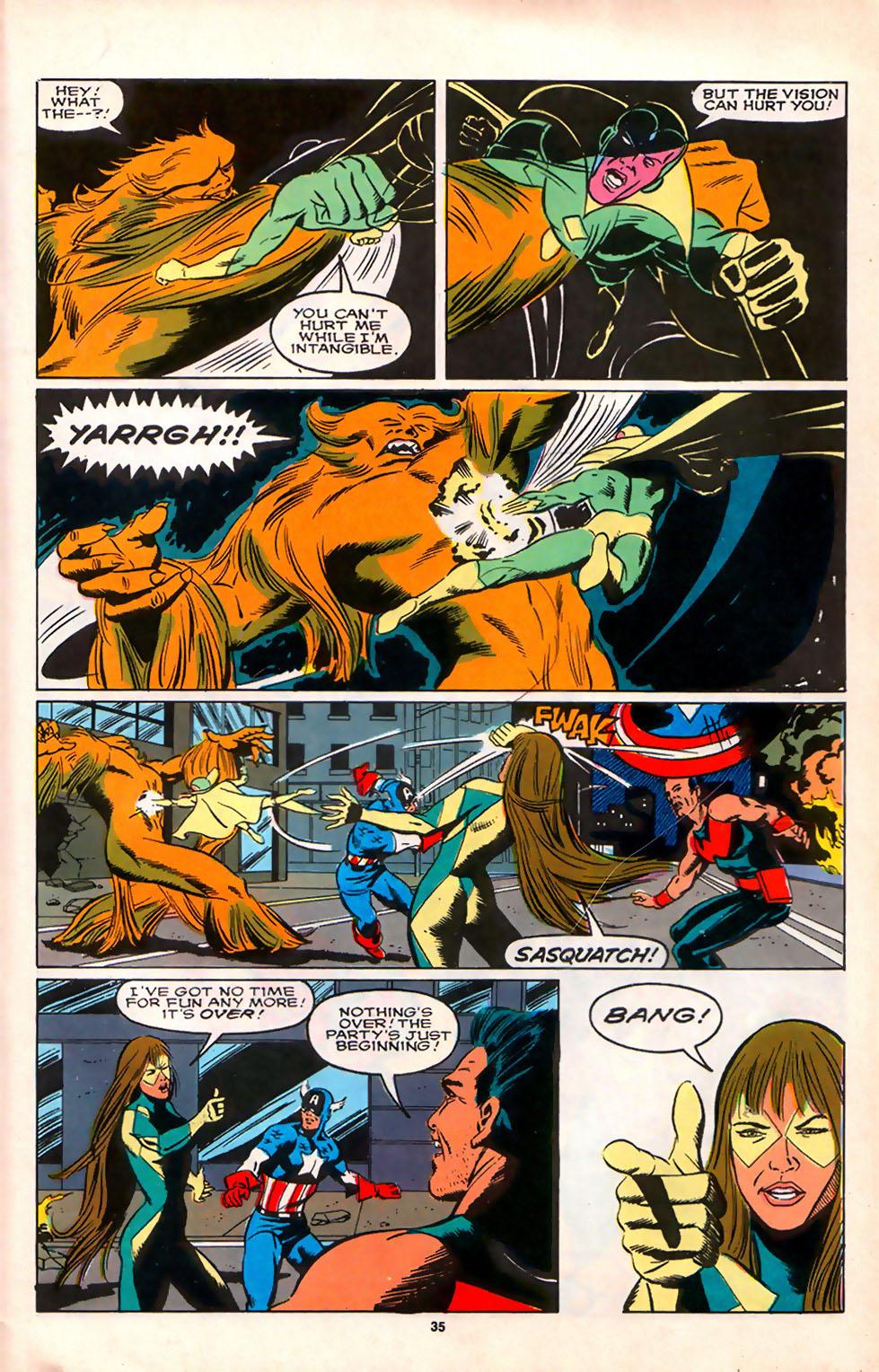 Read online Alpha Flight (1983) comic -  Issue #75 - 32