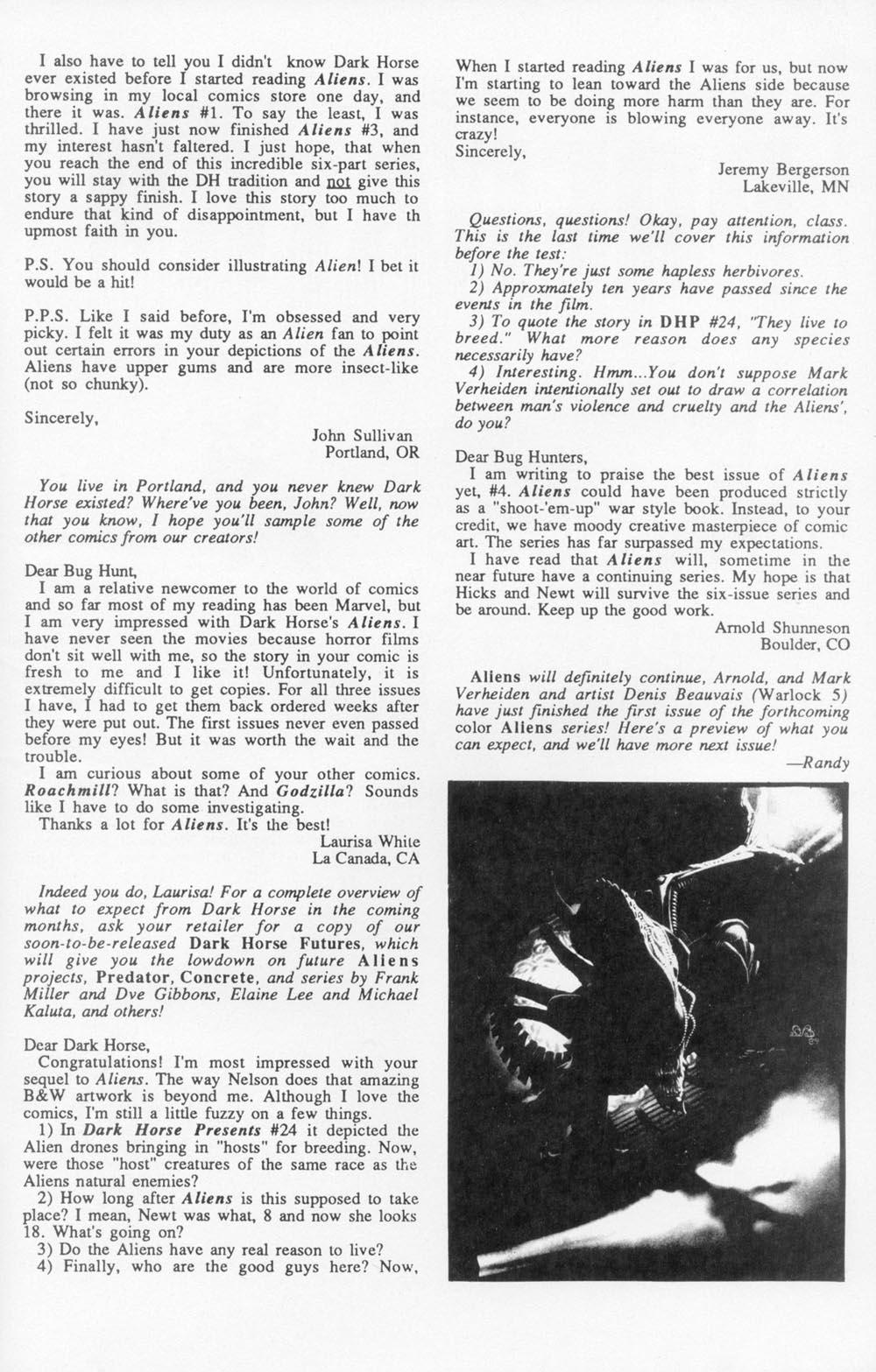 Read online Aliens (1988) comic -  Issue #5 - 29