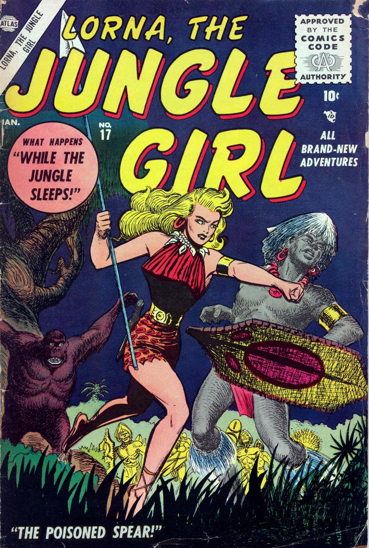 Lorna, The Jungle Girl 17 Page 1
