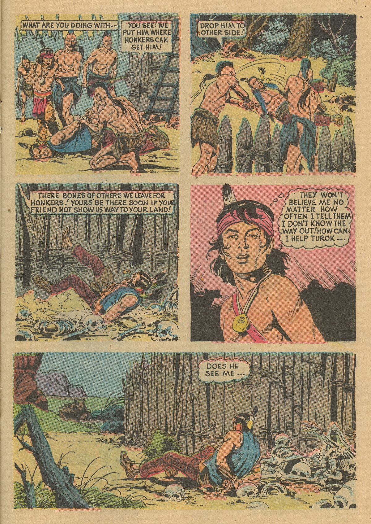 Read online Turok, Son of Stone comic -  Issue #86 - 21