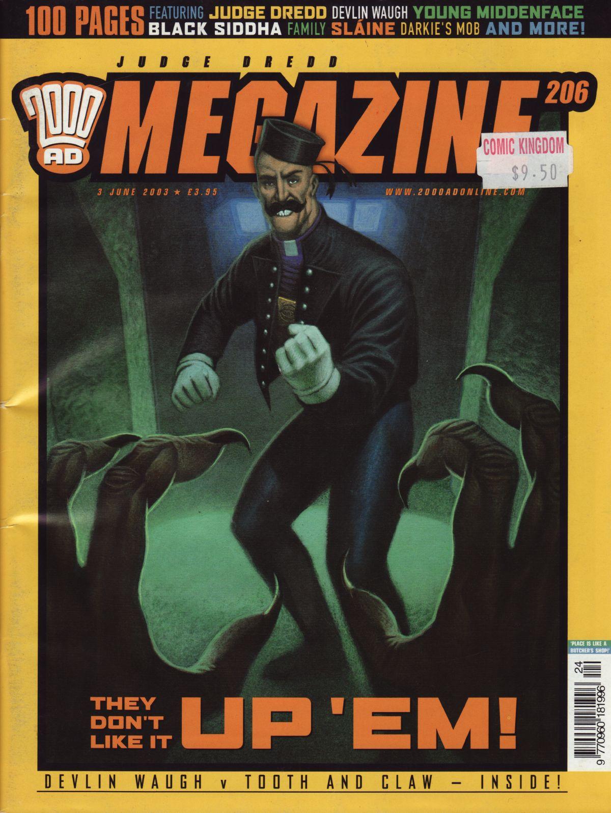 Judge Dredd Megazine (Vol. 5) issue 206 - Page 1