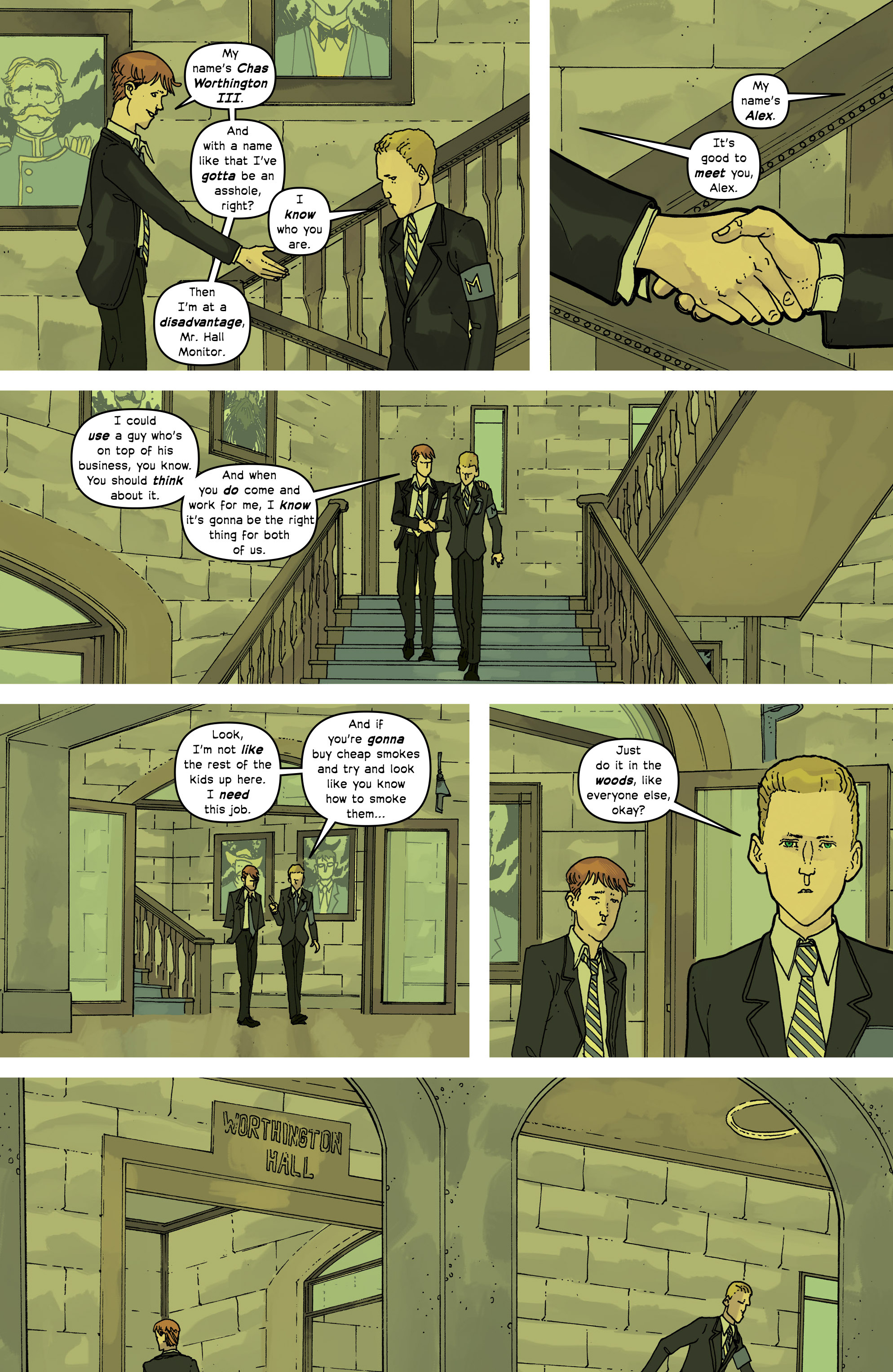 Read online Great Pacific comic -  Issue #16 - 5