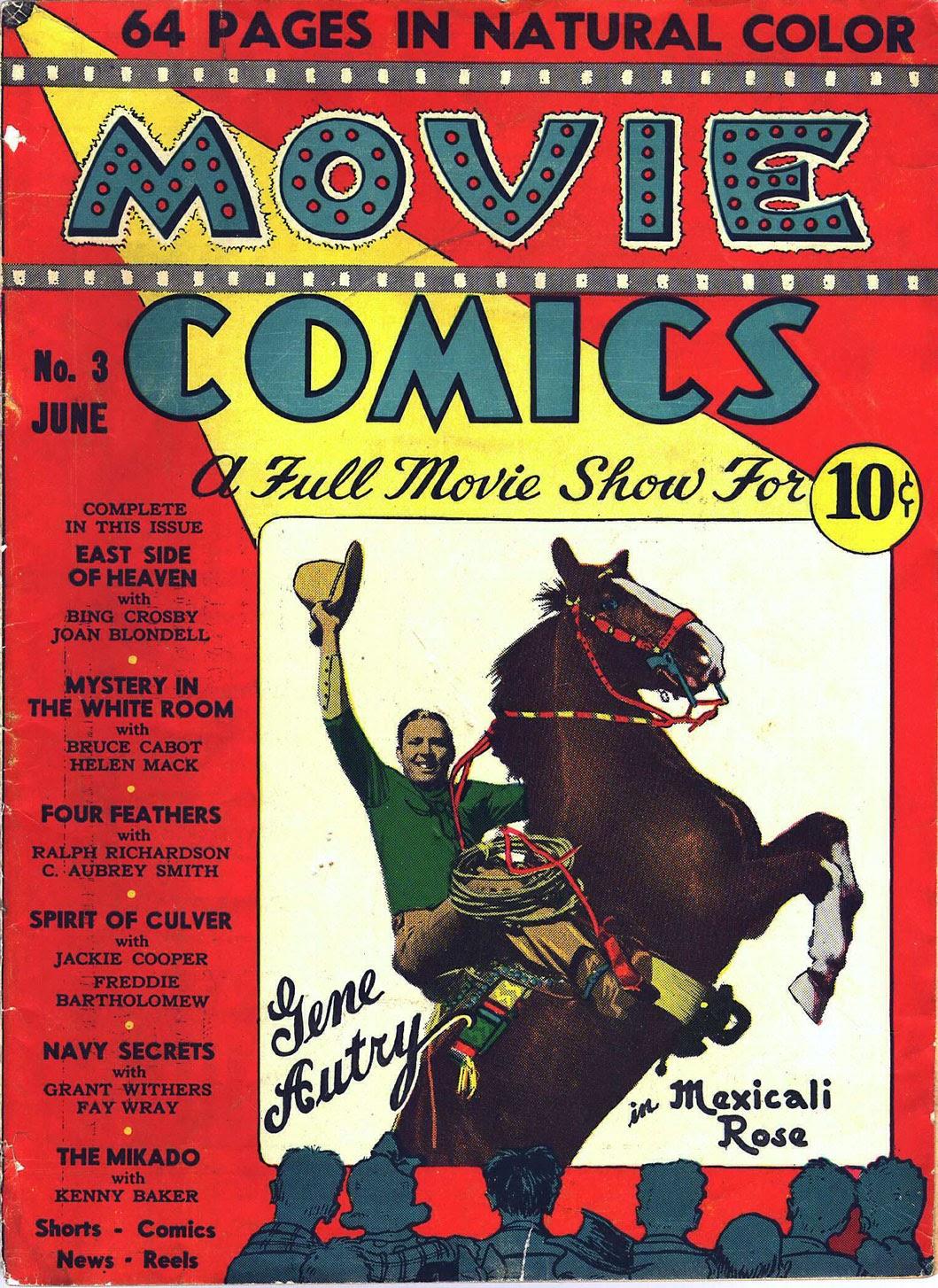 Movie Comics 3 Page 1