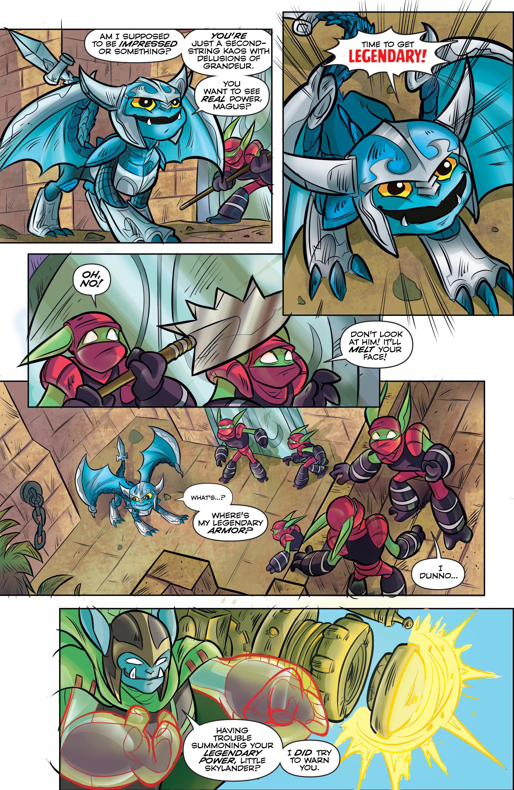 Read online Skylanders comic -  Issue #5 - 13