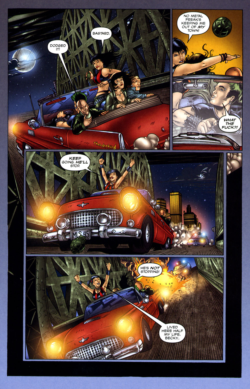 Read online Robocop: Wild Child comic -  Issue # Full - 7
