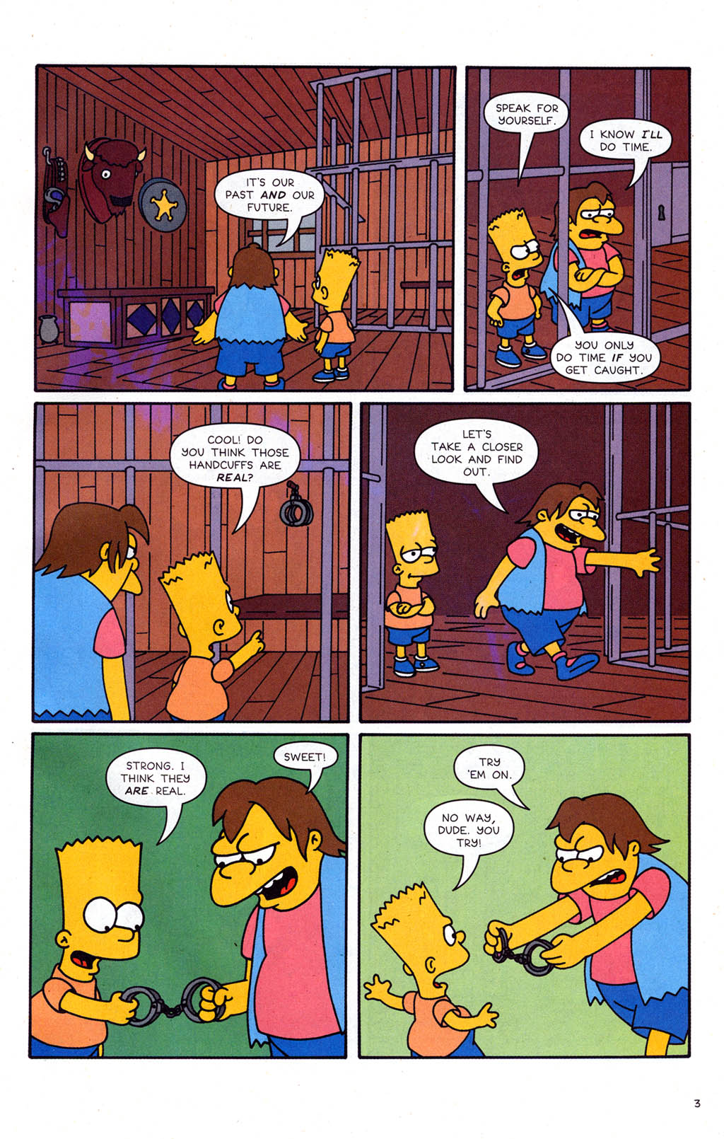 Read online Simpsons Comics Presents Bart Simpson comic -  Issue #21 - 25