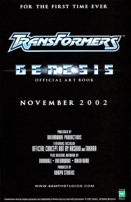 Read online Transformers Armada comic -  Issue #1 - 29