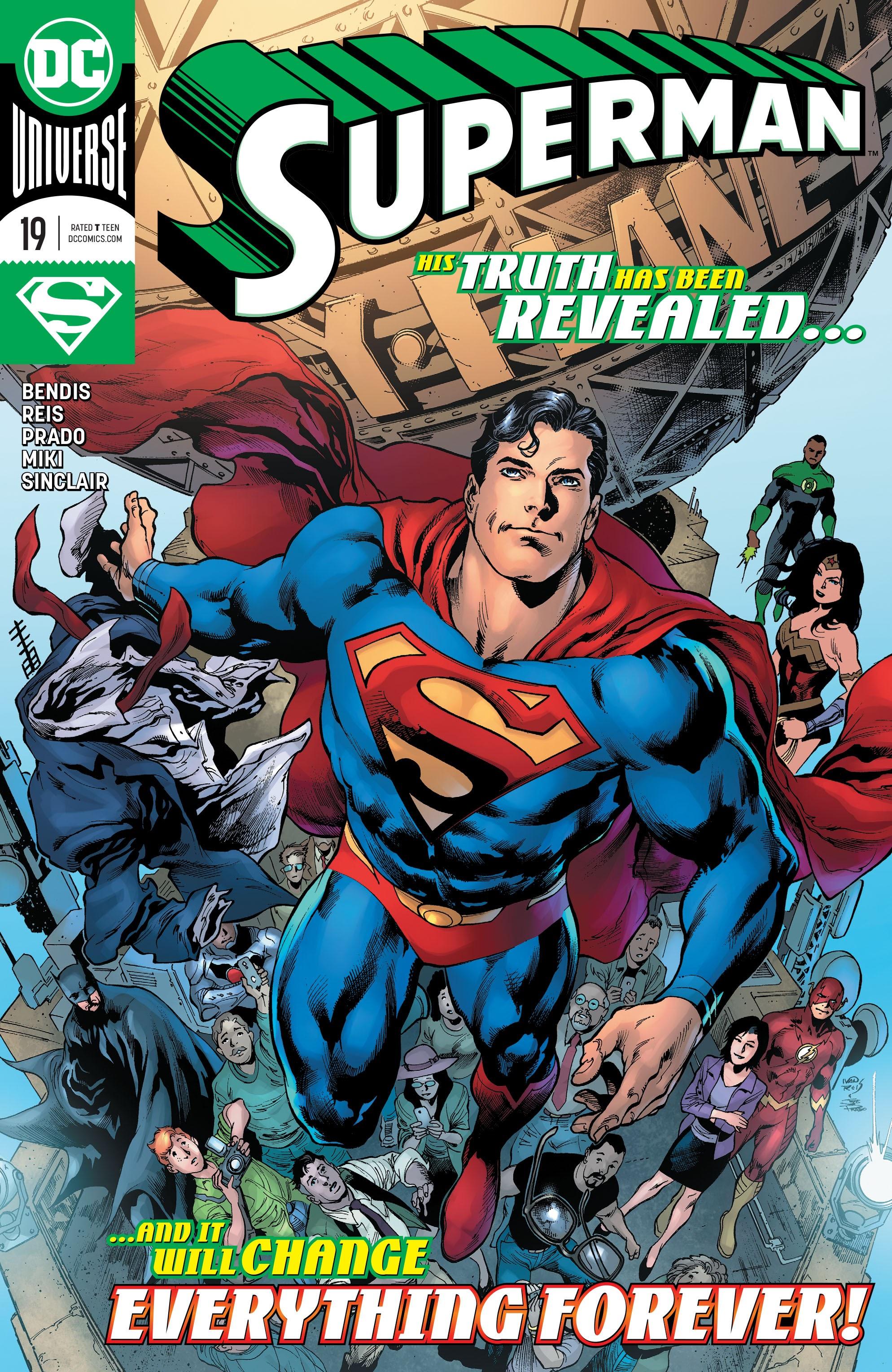 Superman (2018) 19 Page 1