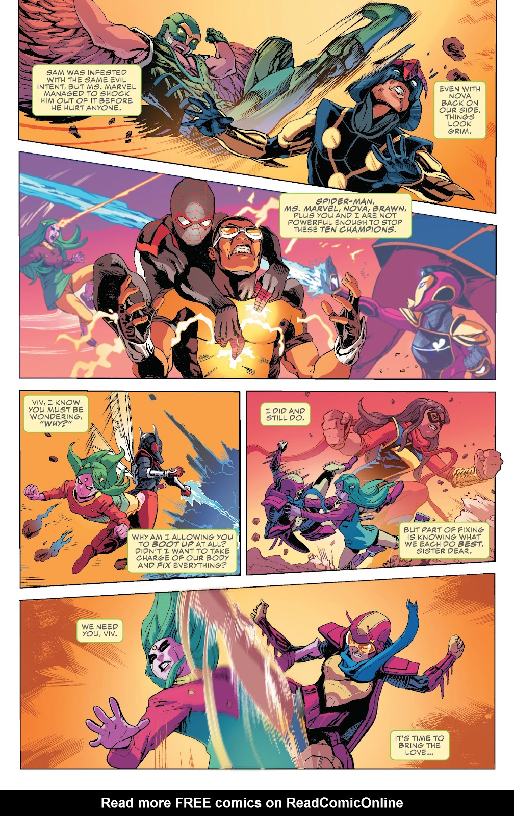 Read online Champions (2019) comic -  Issue #10 - 5