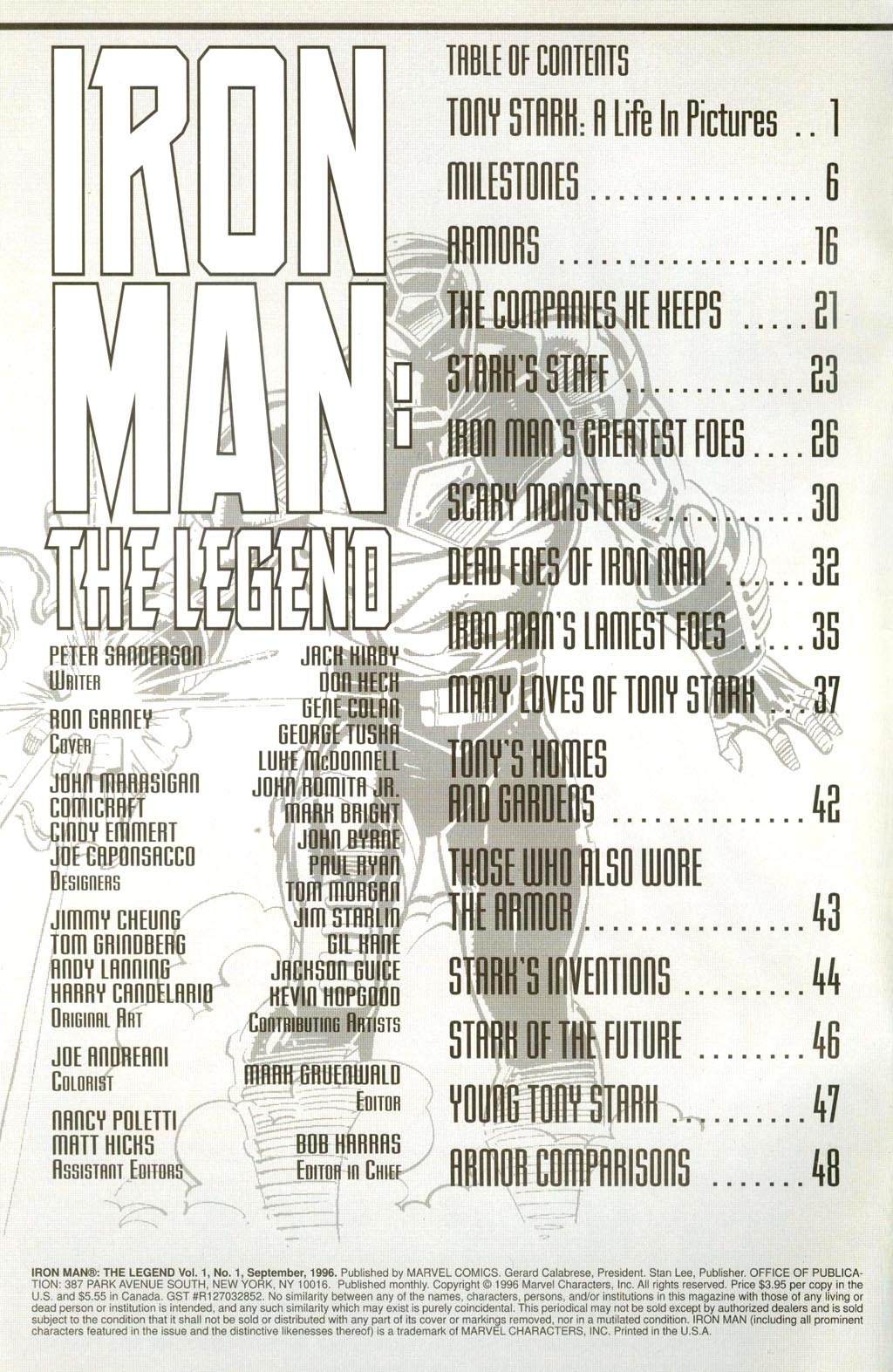 Read online Iron Man: The Legend comic -  Issue # Full - 2