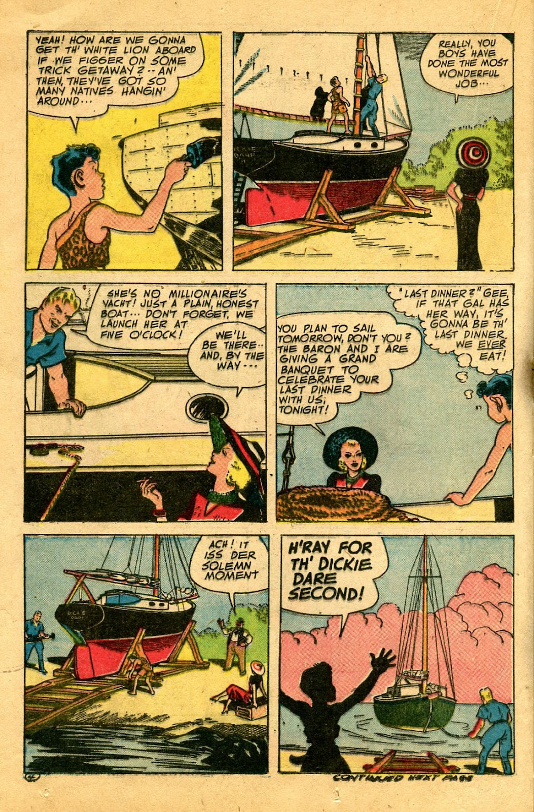 Read online Famous Funnies comic -  Issue #122 - 32