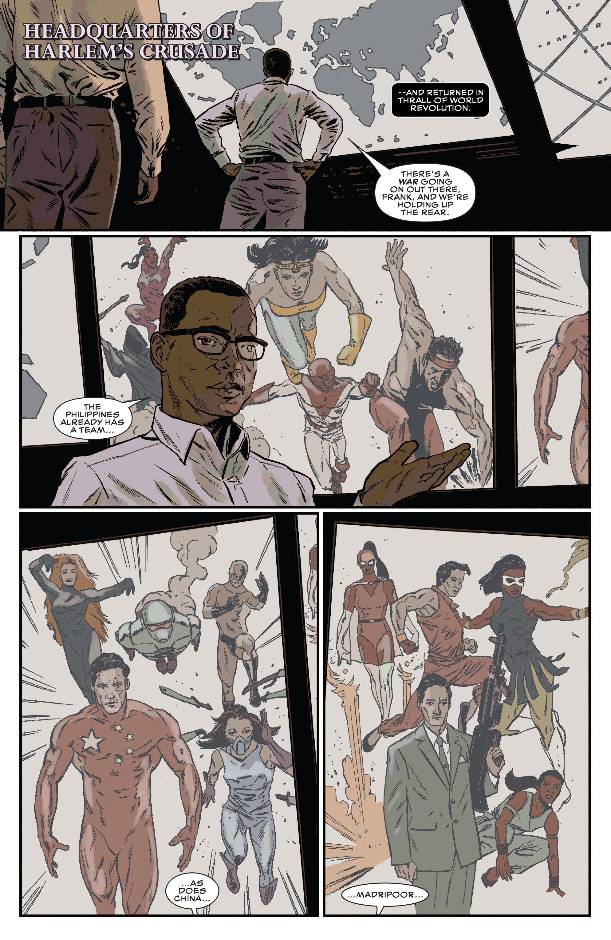 Read online Black Panther and the Crew comic -  Issue #3 - 5