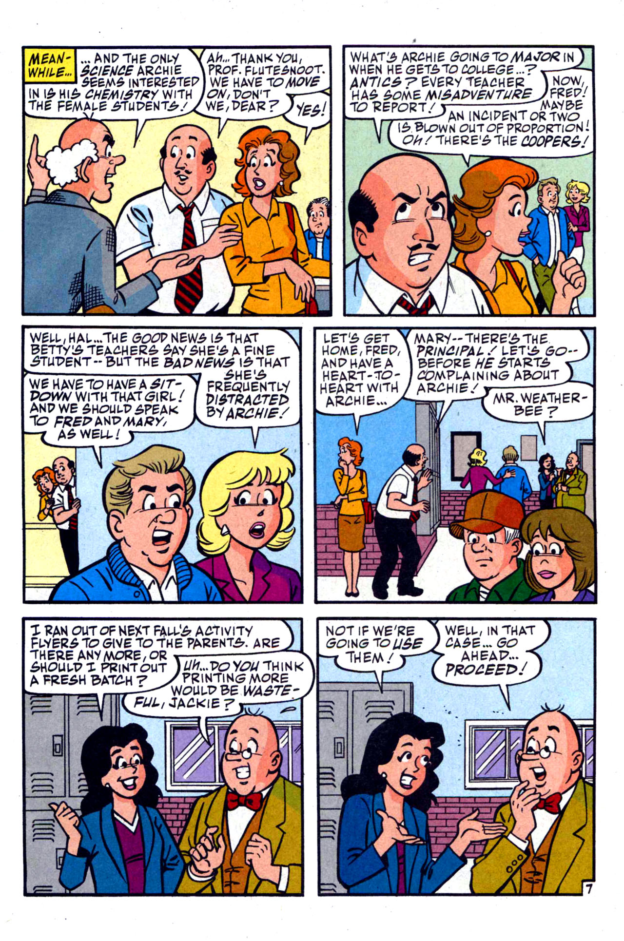 Read online Archie (1960) comic -  Issue #590 - 11