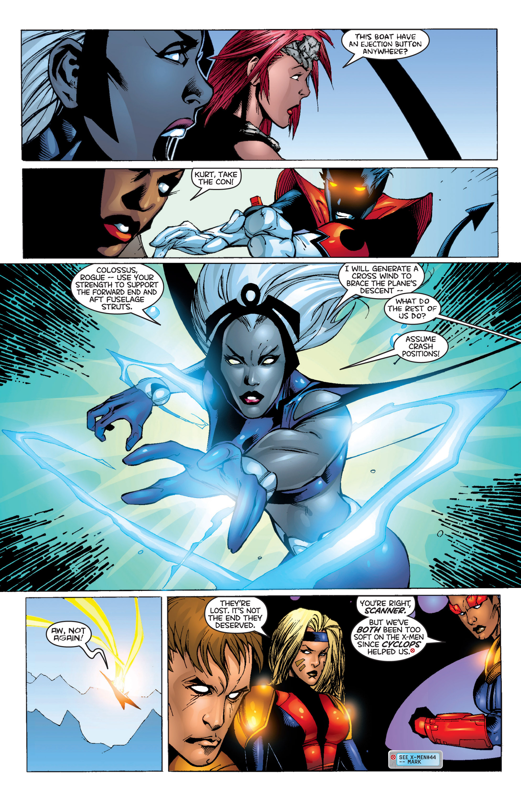 Read online Uncanny X-Men (1963) comic -  Issue #366 - 21
