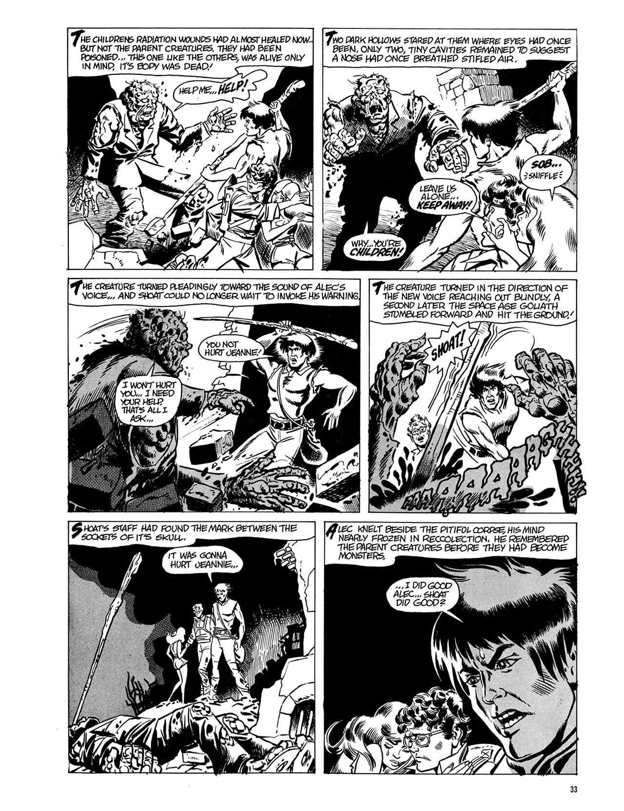 Read online Eerie Archives comic -  Issue # TPB 5 - 34