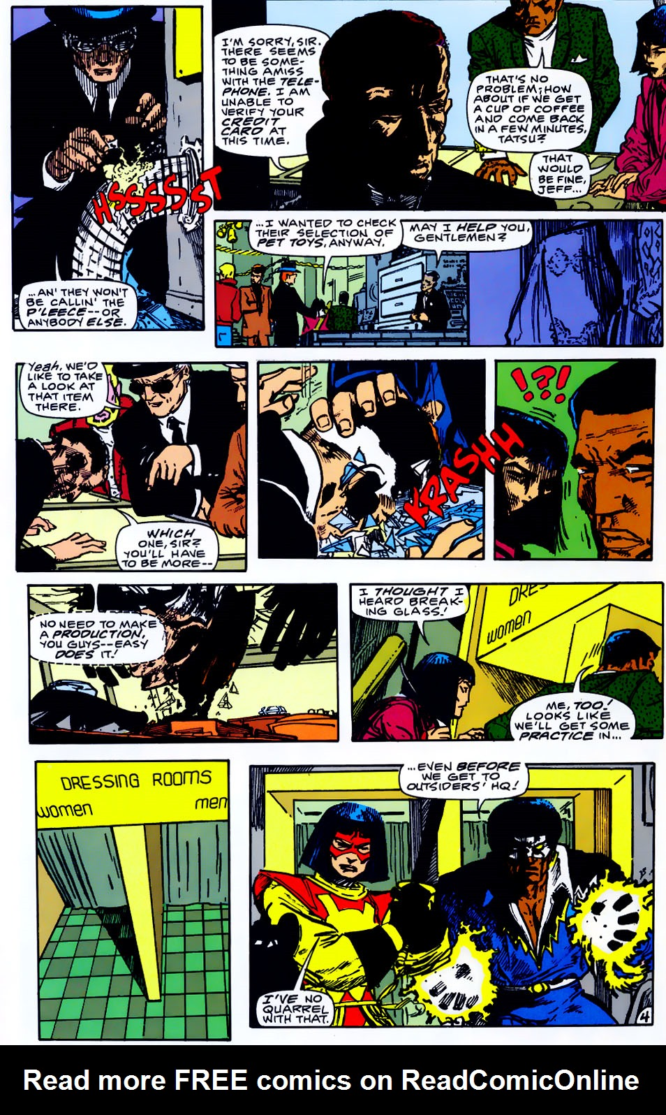 Read online Adventures of the Outsiders comic -  Issue #43 - 25