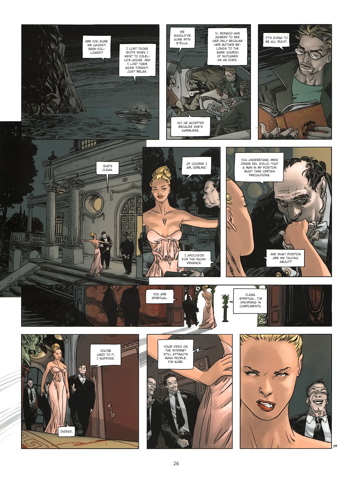 Read online Cutting Edge (2013) comic -  Issue #2 - 25
