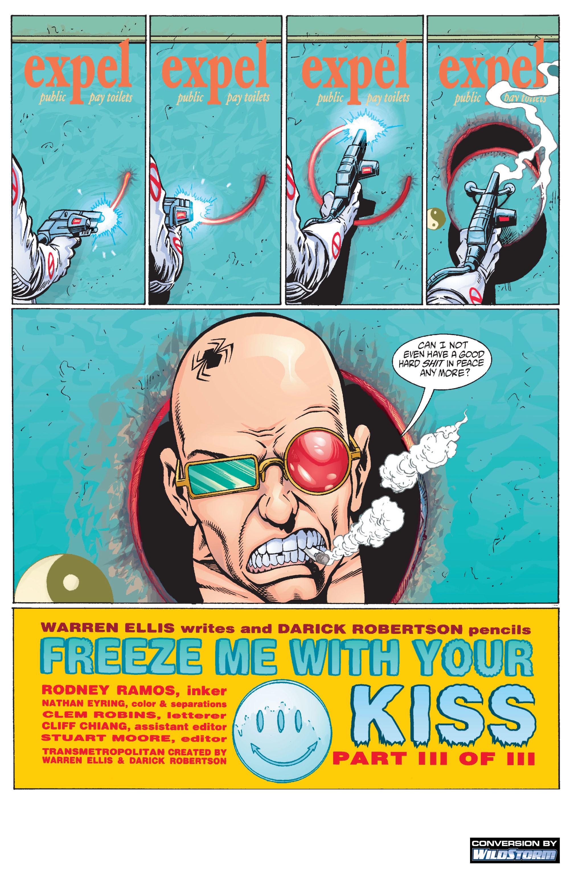 Read online Transmetropolitan comic -  Issue #12 - 2