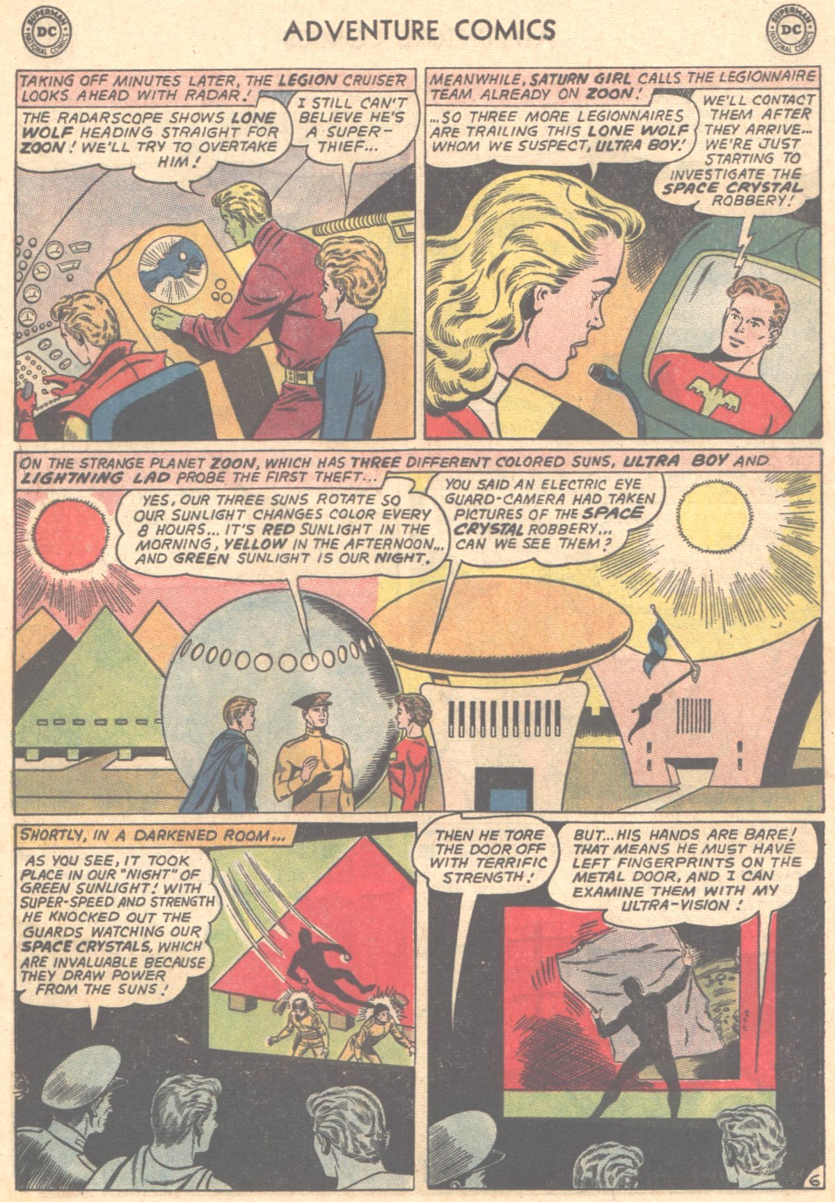 Read online Adventure Comics (1938) comic -  Issue #327 - 7
