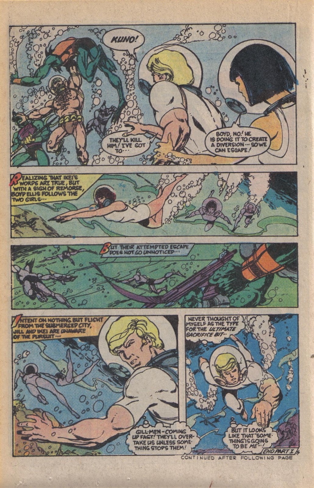 Read online Doomsday   1 (1975) comic -  Issue #10 - 16