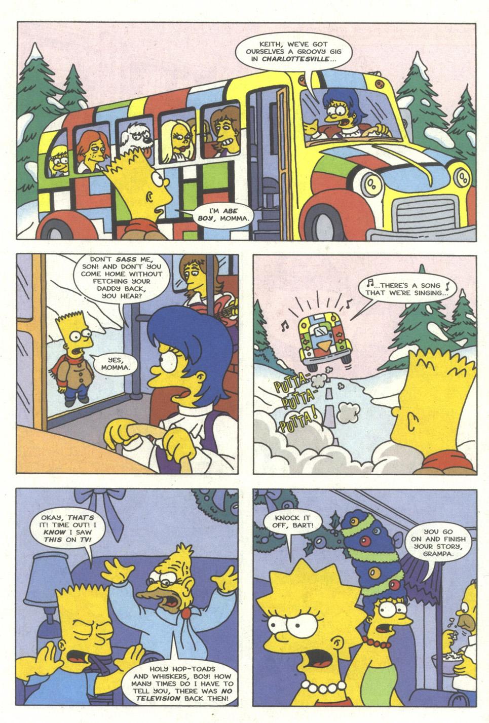 Read online Simpsons Comics comic -  Issue #15 - 12