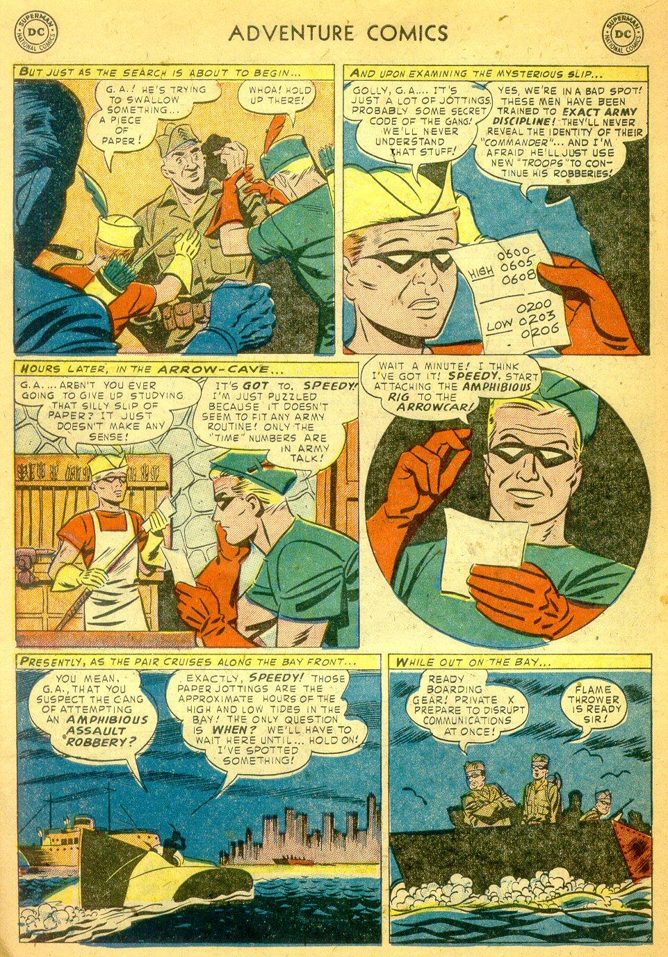Read online Adventure Comics (1938) comic -  Issue #181 - 39
