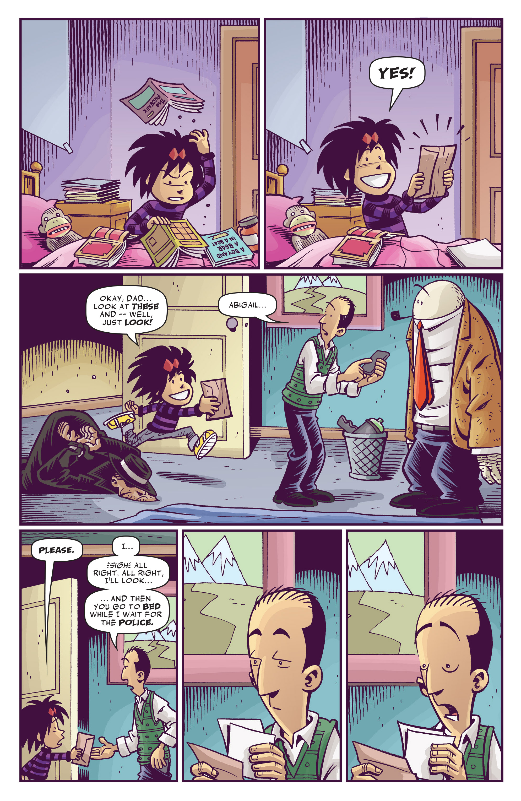 Read online Abigail And The Snowman comic -  Issue #3 - 21