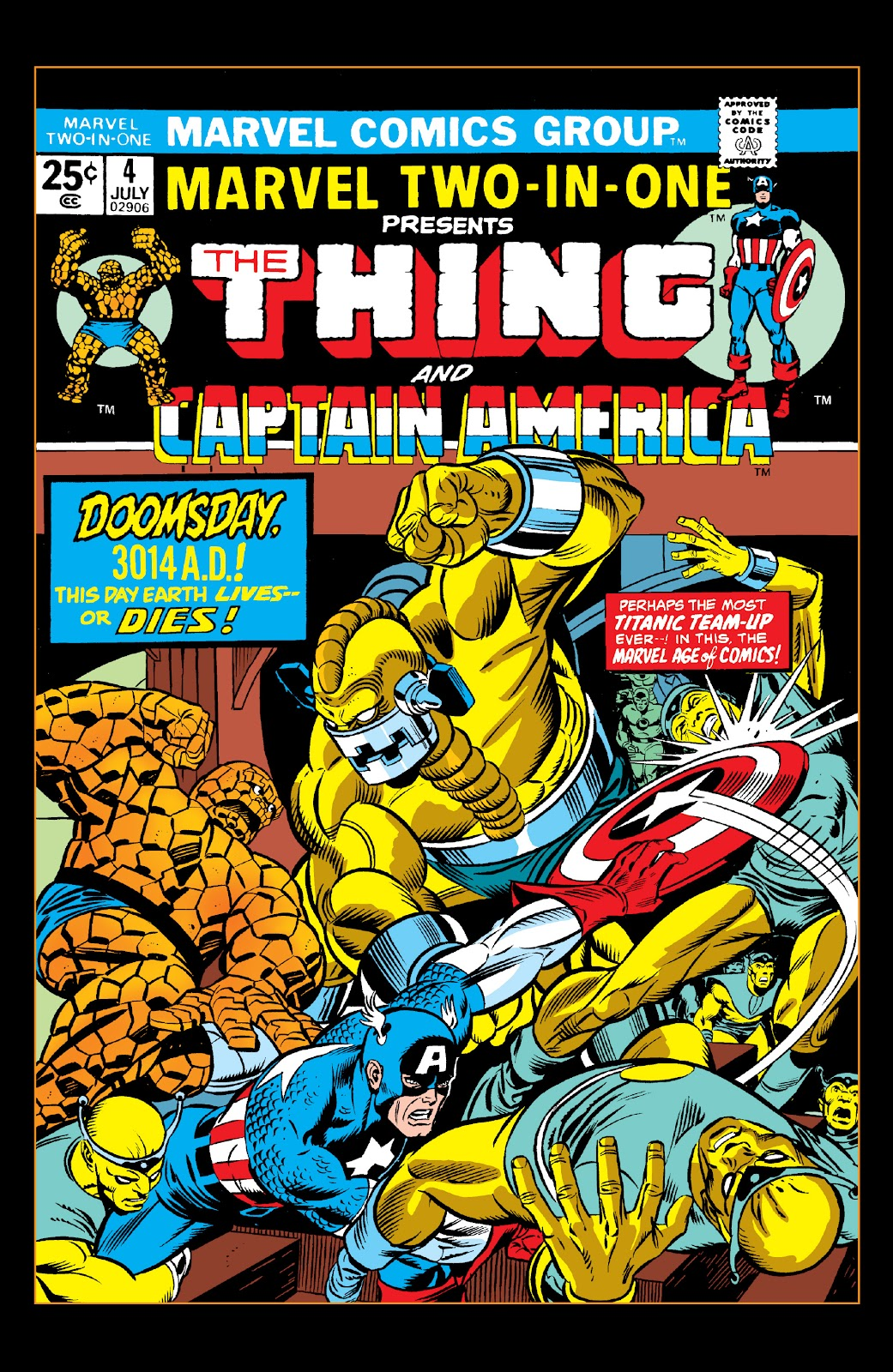 Read online Marvel Two-In-One Epic Collection: Cry Monster comic -  Issue # TPB (Part 2) - 5