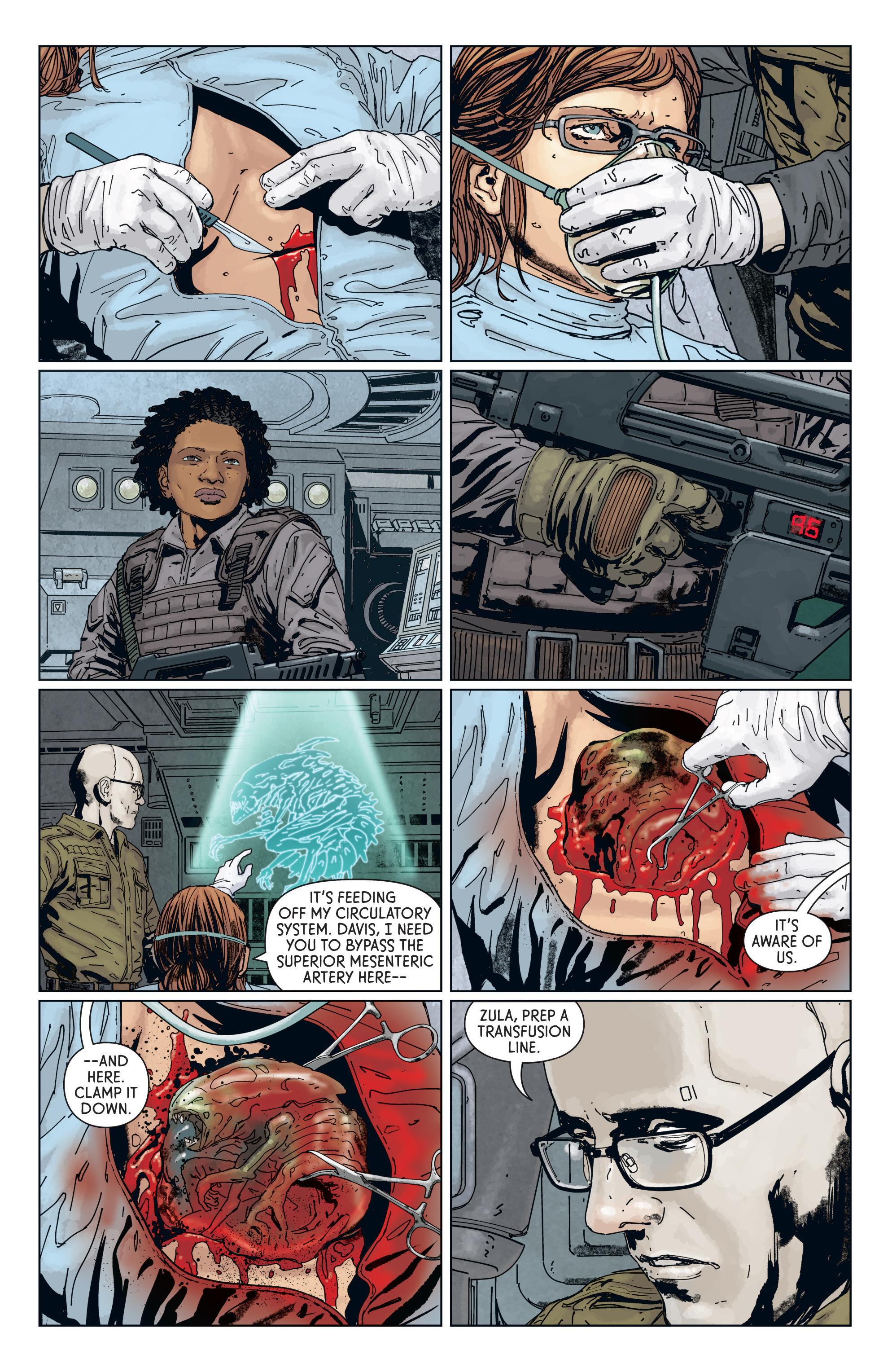 Read online Aliens: Defiance comic -  Issue #7 - 12