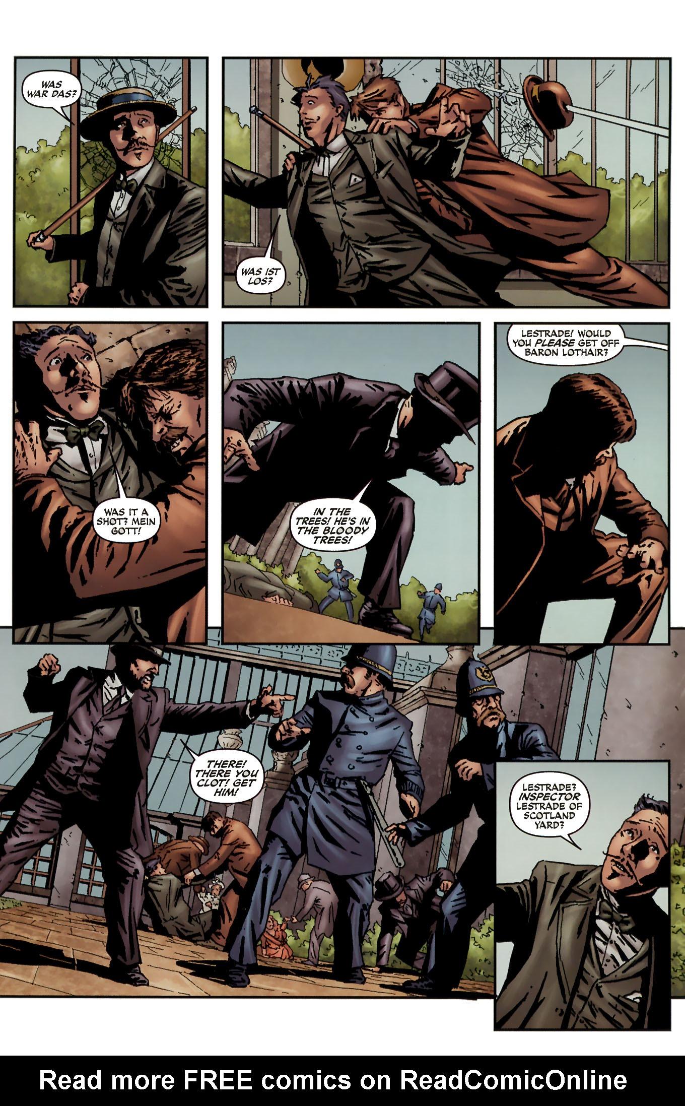 Read online Sherlock Holmes (2009) comic -  Issue #3 - 23