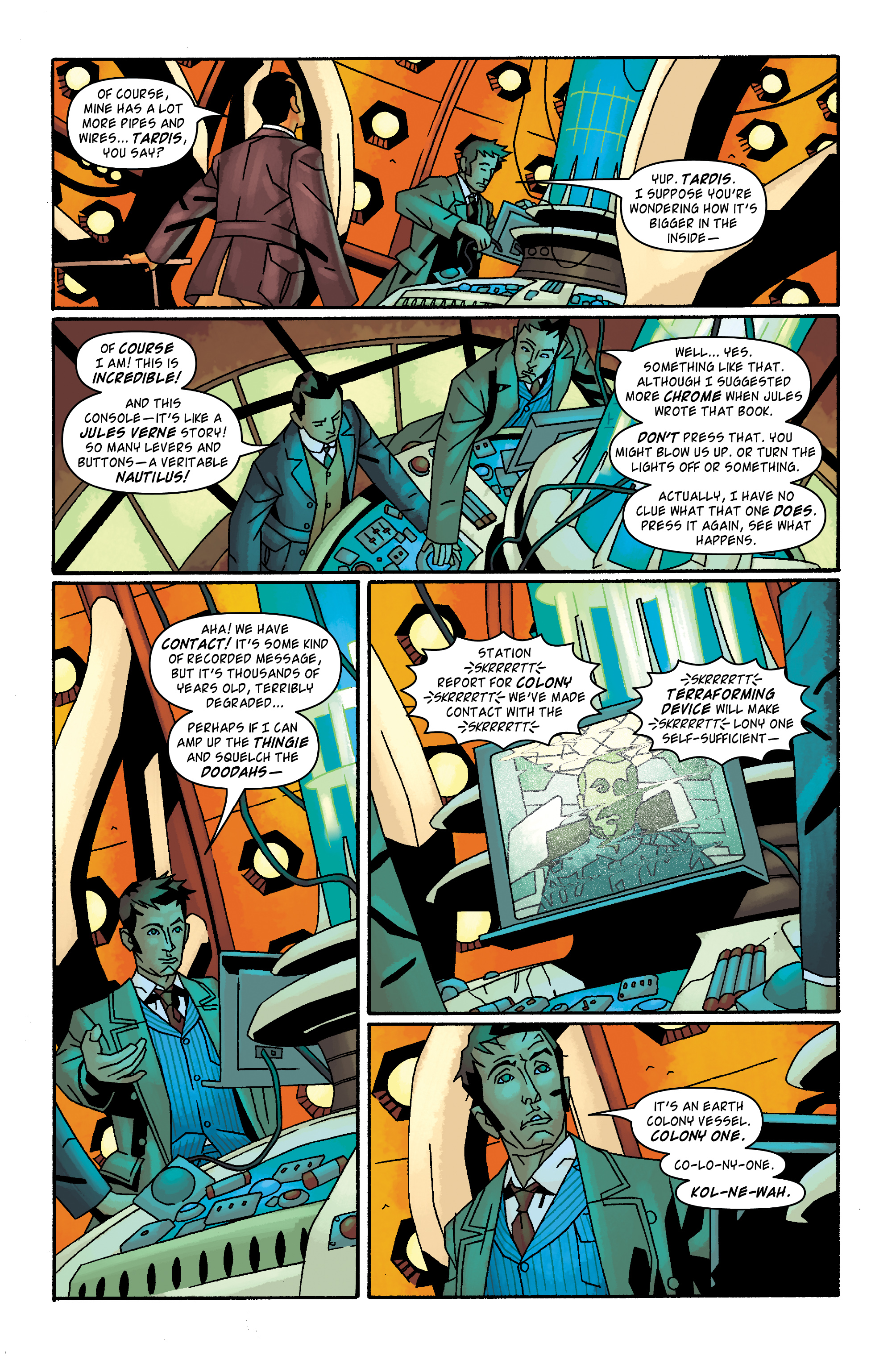 Read online Doctor Who: The Tenth Doctor Archives comic -  Issue #32 - 21