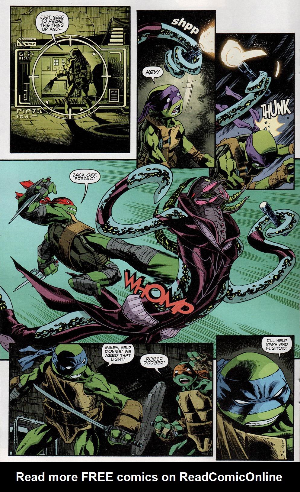 Read online Free Comic Book Day 2017 comic -  Issue # Teenage Mutant Ninja Turtles - 16
