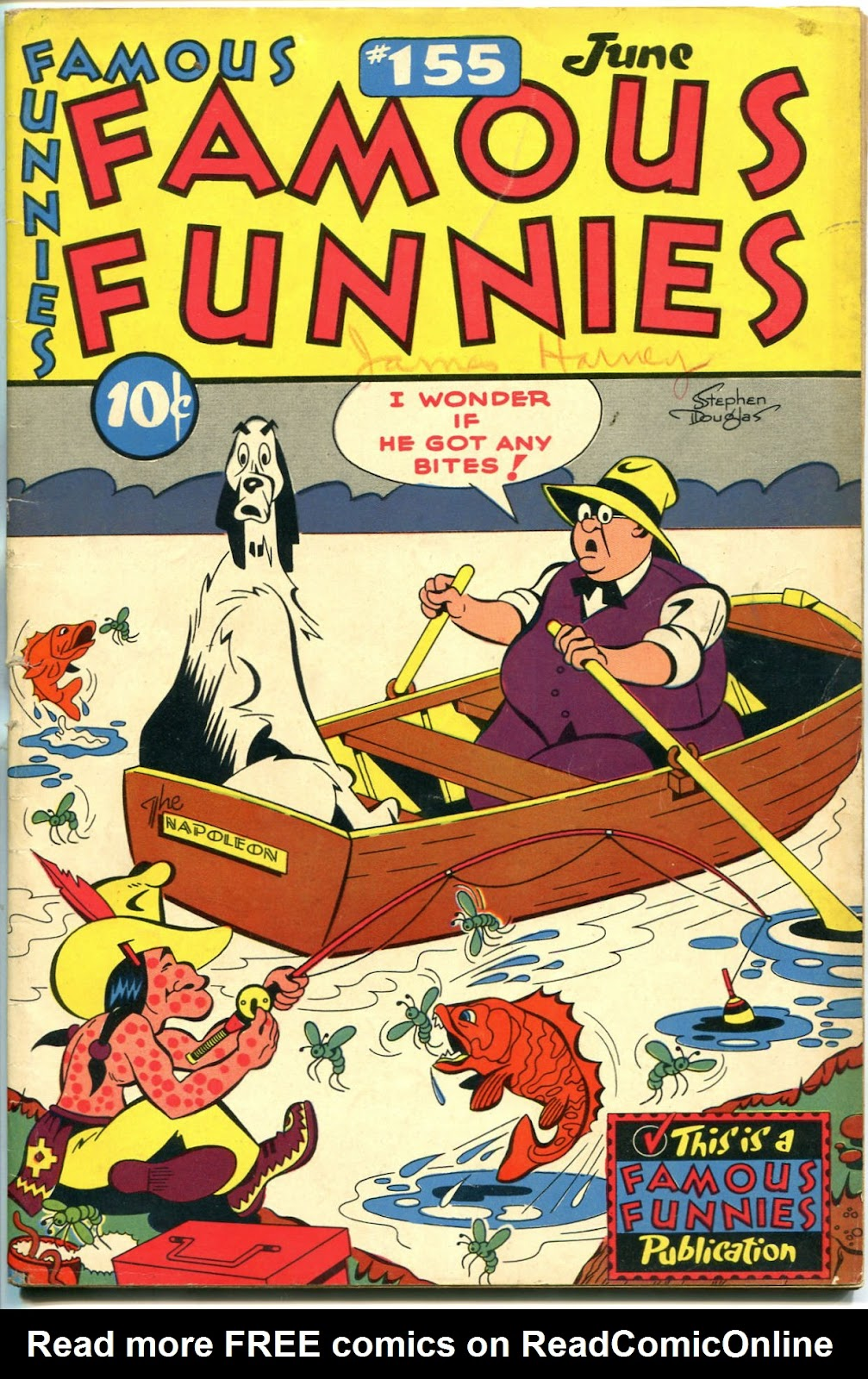 Read online Famous Funnies comic -  Issue #155 - 1