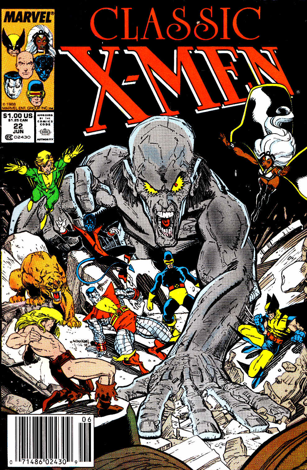 Classic X-Men 22 Page 1