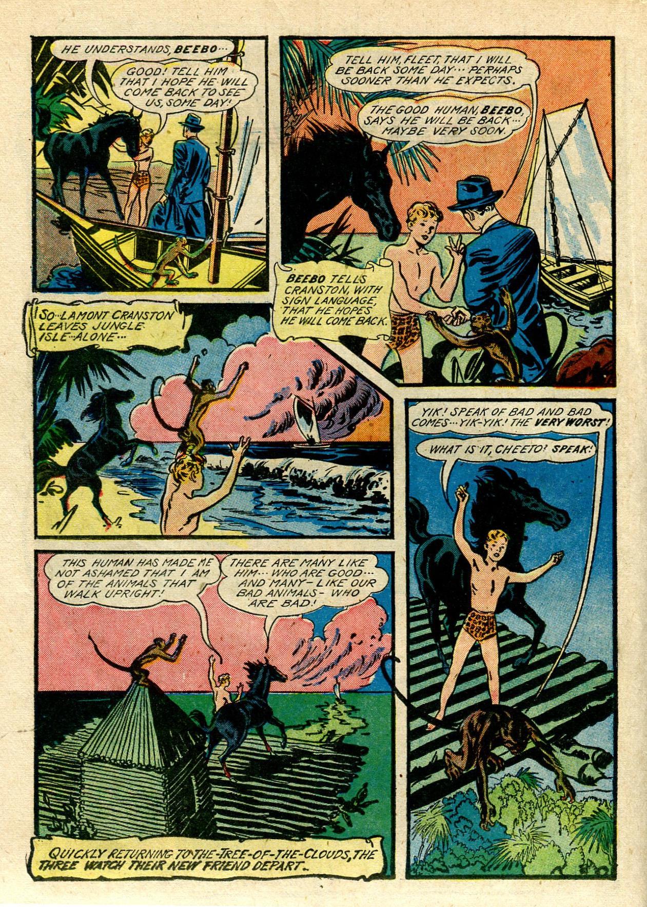 Read online Shadow Comics comic -  Issue #33 - 38